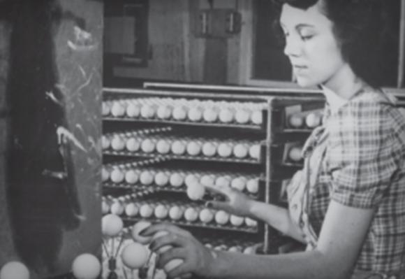 1958 주요 페인팅 공정의 개선으로, 골프볼의 품질과 내구성이 크게 향상되다.