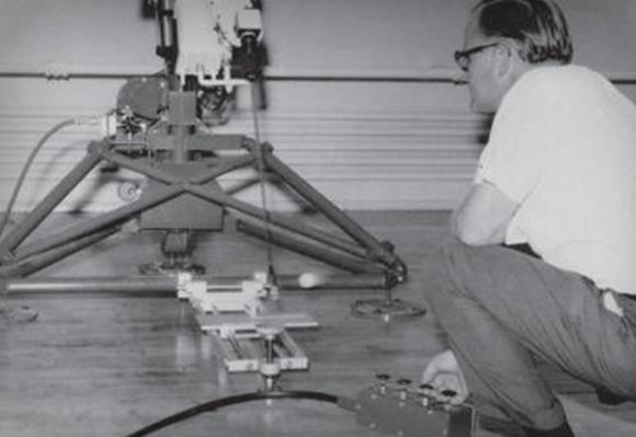 1964 골프볼의 공기역학을 연구하기 위해 R&D팀이 구성되다.