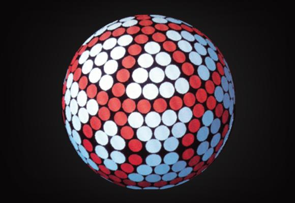 1973 신개념 20면체 딤플 디자인으로 공기역학의 새로운 도약을 선보이다.