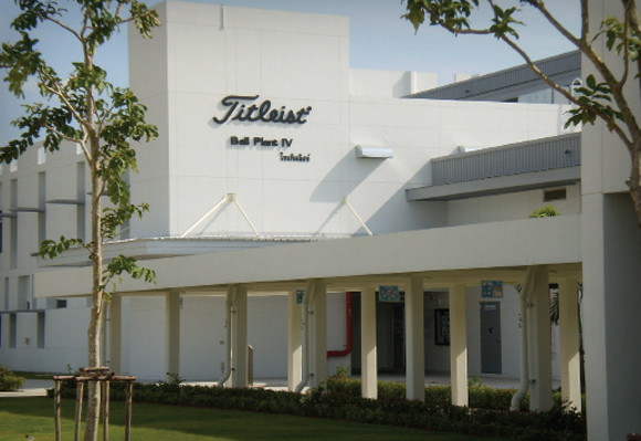 2010 타이틀리스트가 전세계적인 Pro V1과 Pro V1x 골프볼 수요를 충족시키기 위해 태국의 세계적인 수준의 4번째 볼공장을 설립하다.
