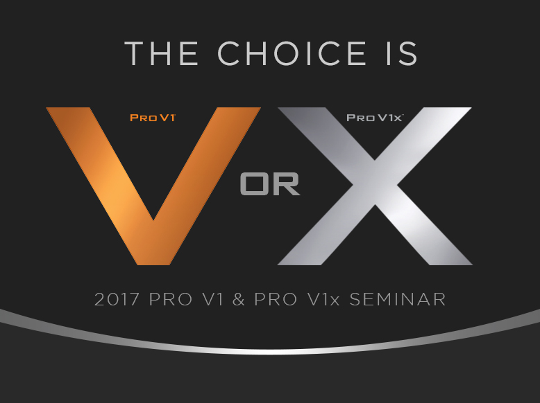 2017 Pro V1 & Pro V1x Seminar에 팀 타이틀리스트 멤버를 초대합니다!